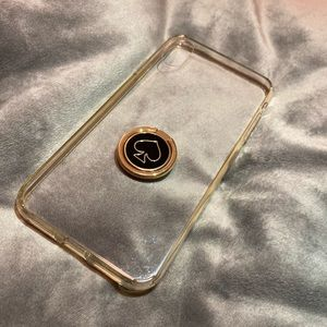 iPhone XS Max phone case and ring stand♠️
